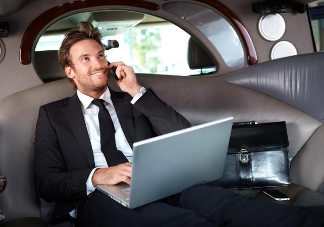 Transfert en limousine / véhicule privé depuis votre hôtel jusqu'à l'aéroport de Las Vegas - Las Vegas -
