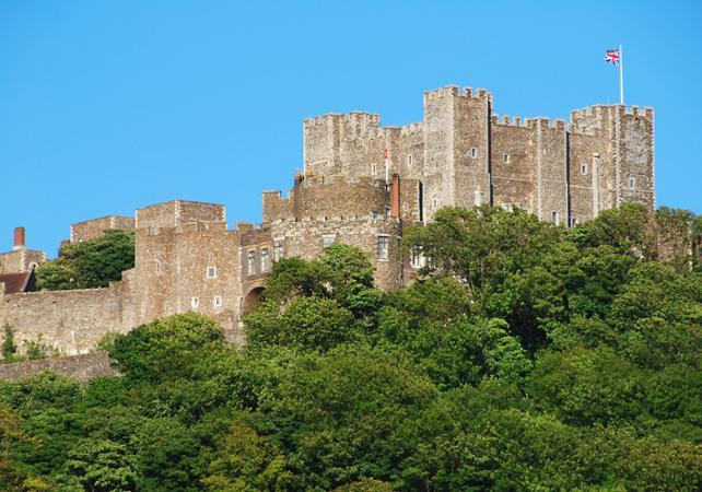 Excursion avec visite guidée du Château de Leeds, de Canterbury, Dover et Greenwich - Londres -