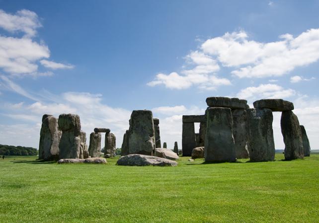 Visite de Stonehenge, Windsor et Bath (entrée dans les bains Romains) au départ de Londres - Londres -