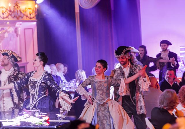 """Diner spectacle spécial carnaval – Cabaret """"Avanspettacolo"""" à Venise - Venise -"""