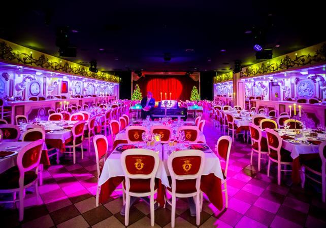 Réveillon à Venise - Dîner spectacle du nouvel an au cabaret Avanspettacolo - Venise -