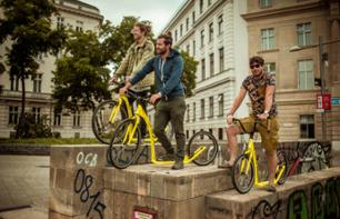 Guided visit of Vienna by kick-bike in a small group