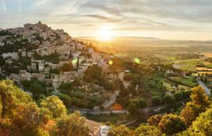 Provençal excursion from Arles: discover the lavender fields and the hilltop villages