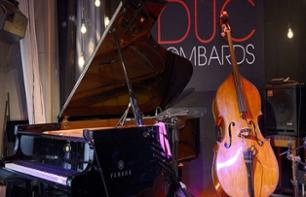 100% Jazz Evening – Guided Tour, Concert and Appetizers at the Duc des Lombards - In French