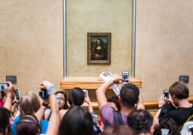 Mus e du louvre billet prioritaire mus e du louvre avec explications sur la joconde - Musee du louvre billet coupe file ...