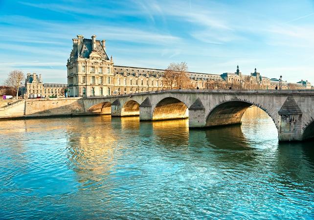 Billet coupe file Musée du Louvre et Croisière sur la Seine - new-paris -