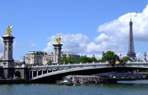Priority Access to the 2nd Floor of the Eiffel Tower + Louvre Museum + Cruise on the Seine