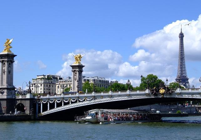 Paris : Accès Coupe file 2ème étage Tour Eiffel + Musée du Louvre &  Croisière sur la Seine