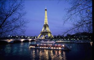 Seine River Cruise & Moulin Rouge Cabaret Show – Transport included