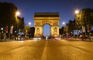 Paris Illuminations Minibus Tour (8pm) – Hotel pick-up/drop-off