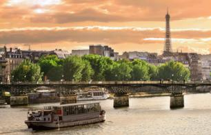 City Tour by Minibus + The Eiffel Tower + Seine River Cruise – Hotel pick-up/drop-off, 1:15pm start