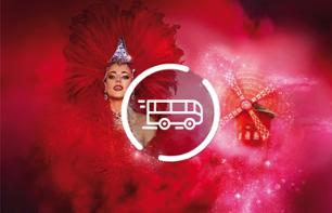 Evening Tour of Paris by Minibus & Moulin Rouge Show – Hotel pick-up/drop-off - 7pm