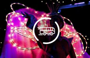 Night Tour of Paris by Minibus & Moulin Rouge Show – Hotel pick-up/drop-off - 9pm