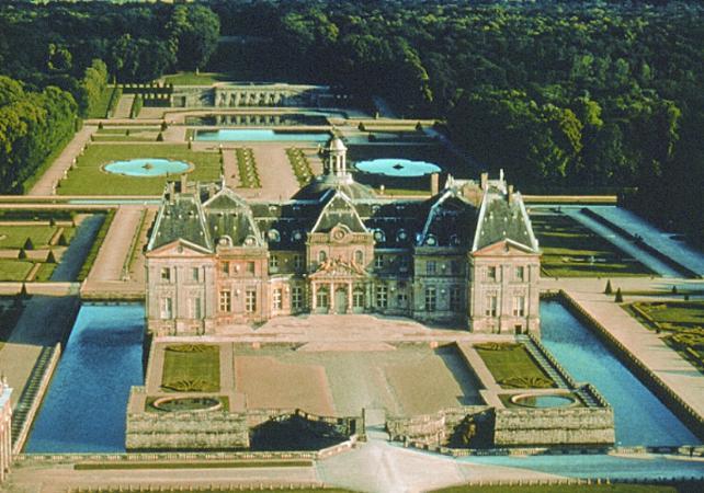 欧式城堡园林平面图