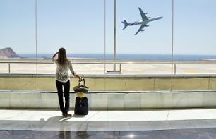 Private Transfer from Central Barcelona to the Airport