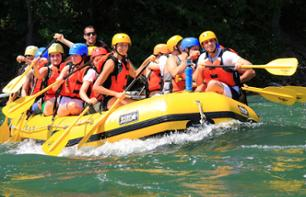Whitewater Rafting in Lachine Rapids in Montreal