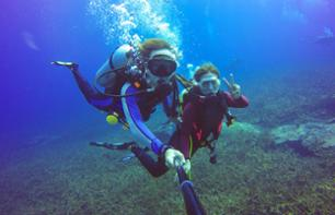Scuba Diving Initiation at the Beach – 20 minutes from Cannes
