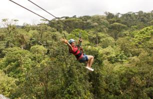 Ultimate Explorer: Cable Car, Zip-line, Suspension Bridge and Rainforest Walk – Near Braulio Carrillo National Park