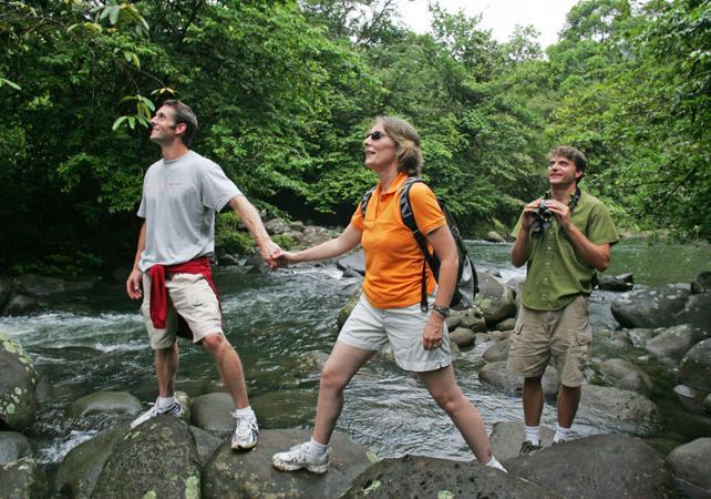Trekking dans la forêt et baignade dans des piscines naturelles - A proximité du Parc national Braulio Carrillo - San José (Costa Rica) -