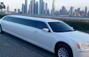 Chrysler Limousine tour in Dubai - 1h rental with a chauffeur