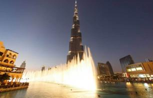 Fountain Show and Traditional Boat Ride on Burj Lake - Dubai