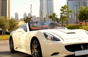 Ferrari tour  with chauffeur - departing from Dubai