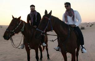 Horseriding in the desert - Departure in Dubai