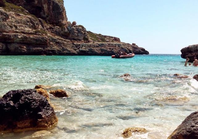 Tour guidé en bateau sur la côte turquoise de Palma de Majorque - Palma de Majorque -