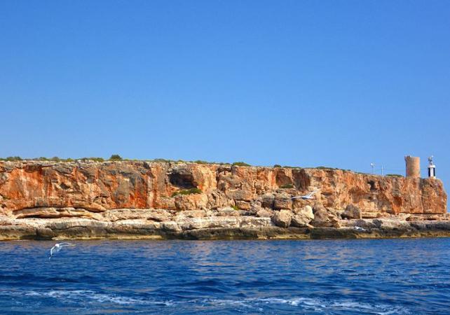 Tour guidé en bateau au parc naturel de Mondrago à Palma de Majorque - Palma de Majorque -