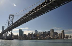 Sightseeing Cruise on San Francisco Bay: Golden Gate Bridge to Bay Bridge