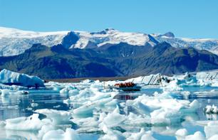 Day Trip to Jökulsarlon and other sites on the Southern Coast - depart from Reykjavik