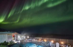 Evening in the Fontana Laugarvatn Baths, with Aurora Borealis Viewing - Dinner in option - Depart from Reykjavik