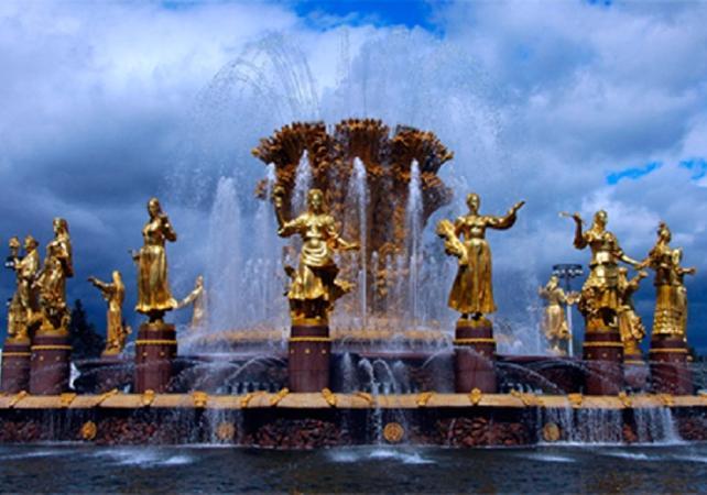 Photo Visite guidée à pied autour des vestiges de Staline à Moscou