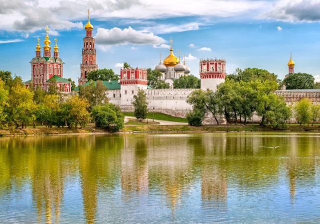 Photo Visite guidée du couvent et du cimetière Novodievitchi à Moscou