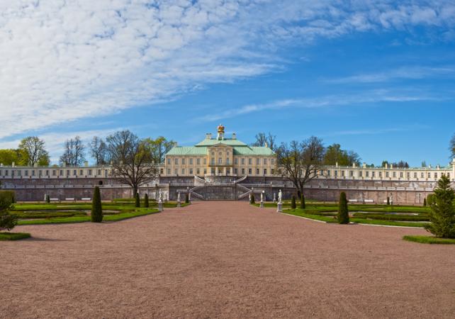 Photo Visite guidée du Palais Oranienbaum - Départ de Saint Pétersbourg