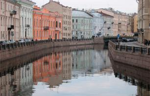 Guided River Tour of Saint Petersburg – Hotel transfer
