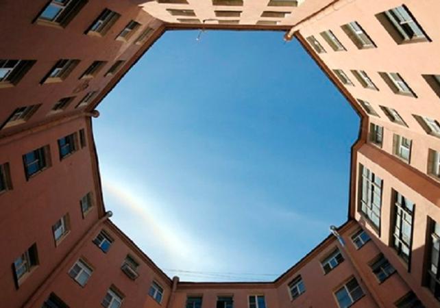 Photo Visite guidée des cours intérieures de Saint Pétersbourg
