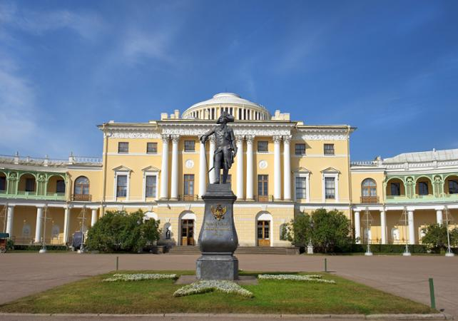 Excursion à Pavlovsk : visite guidée du Palais de Pavlovsk - Saint Petersbourg -