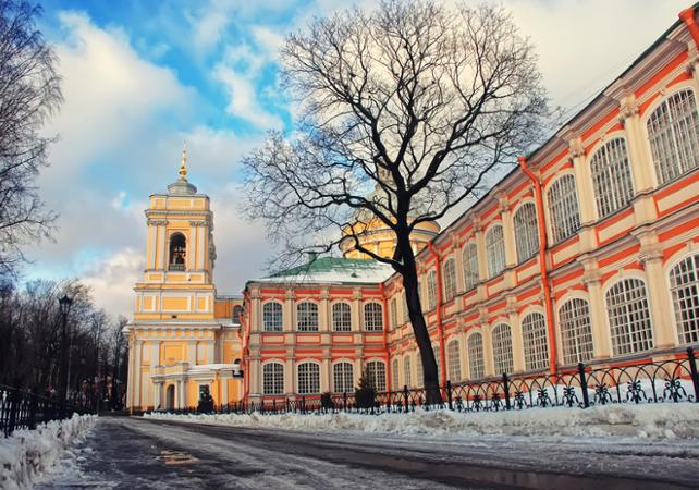 Photo Visite guidée du monastère Alexander Nevsky Lavra