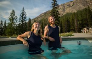 Bathing in Miette Hot Springs – In Jasper National Park