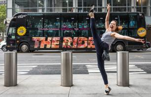 """The Ride"": bus panoramico & spettacolo interattivo per le strade di New York"