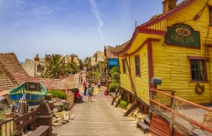 Tickets to the Popeye Village Attraction — Malta Hotel pick-up / drop-off included