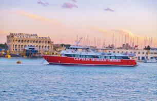 Cruise to the 2 Ports of Malta – Hotel Pick-up / Drop-off