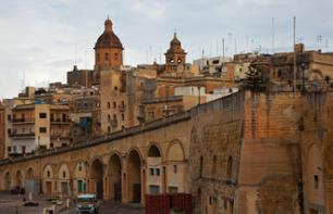 Guided visit to 3 cities in Malta - return travel to your hotel