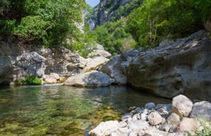 River Hiking in the Loup Gorges – Departing from Gourdon (40 mins from Grasse)
