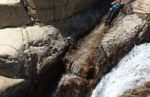 Canyoning in the Gours du Ray – Departing from Gréolières (40 mins. from Grasse)