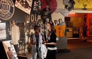 Billet Rock 'n' Soul Museum - Memphis (billet Hall of Fame disponible en option)