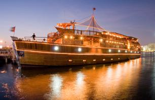 Rustar Dhow Dinner Cruise – Dubai's biggest floating restaurant