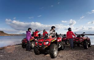 Quad bike trip in Iceland's mountains