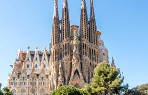 Fast-Lane-Ticket für die Sagrada Familia (Audioguide und Turm optional)